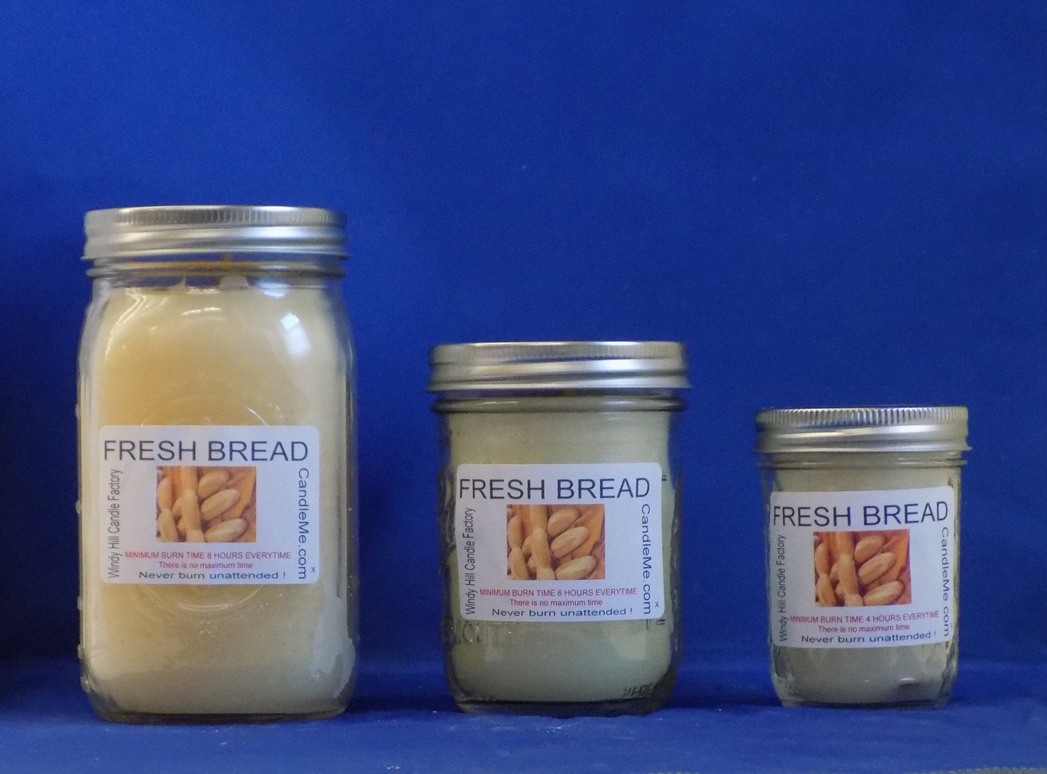 Fresh Baked Bread Scented Jar Candle