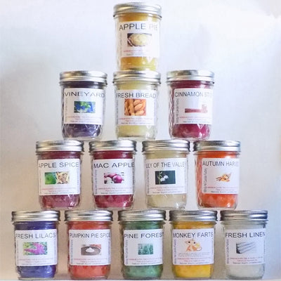 Z1 Internet Special | Pick Any 12 Small Jar Scented Candles | Free Shipping!