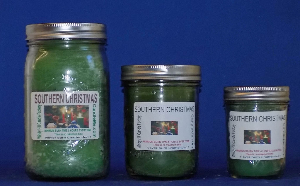 Christmas Scented Jar Candles