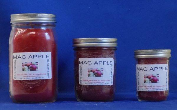 Mac Apple Scented Jar Candle
