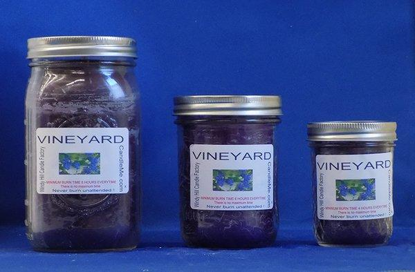 Vineyard Scented Jar Candle