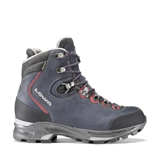 LOWA Mauria GTX® Wide Womens - Dark Blue/Burgundy