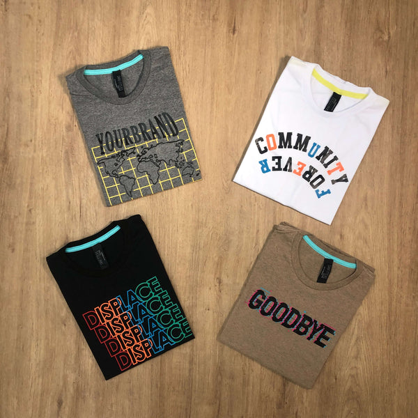 Outfit SNF 662 Pack 4 Remeras Estampadas