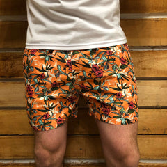 SNF - Short de baño Rose-Orange