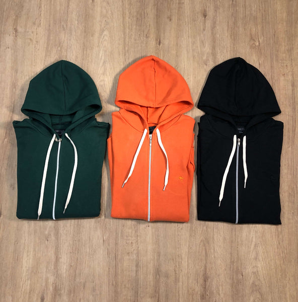 Outfit 538 - Campera Orange - Campera Green - Campera Black
