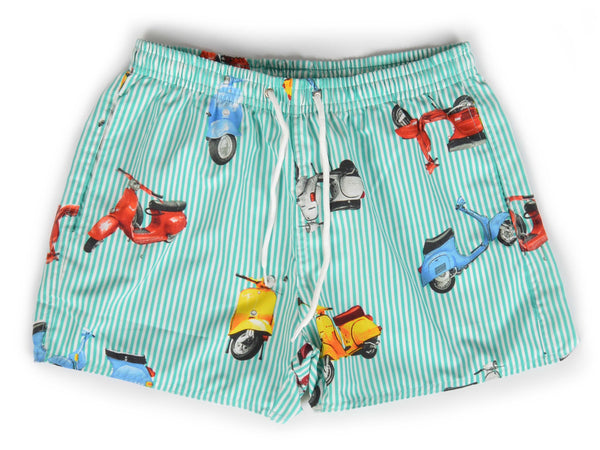 Short de baño Scooter Green