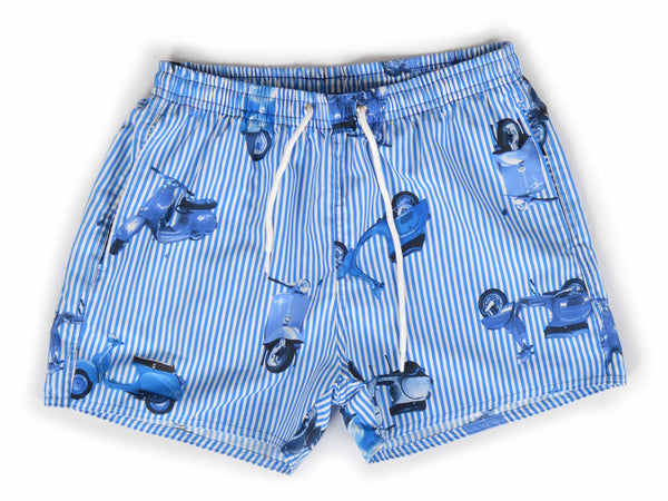 Short de baño Scooter Blue