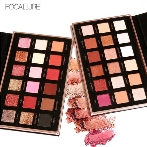 FOCALLURE 18 Colors Pro Eyeshadow Palette FA40