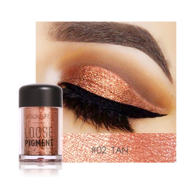 FOCALLURE Glitter High Pigment Loose Eyeshadow FA37
