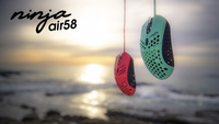 Air58 Ninja - Cherry Blossom Red