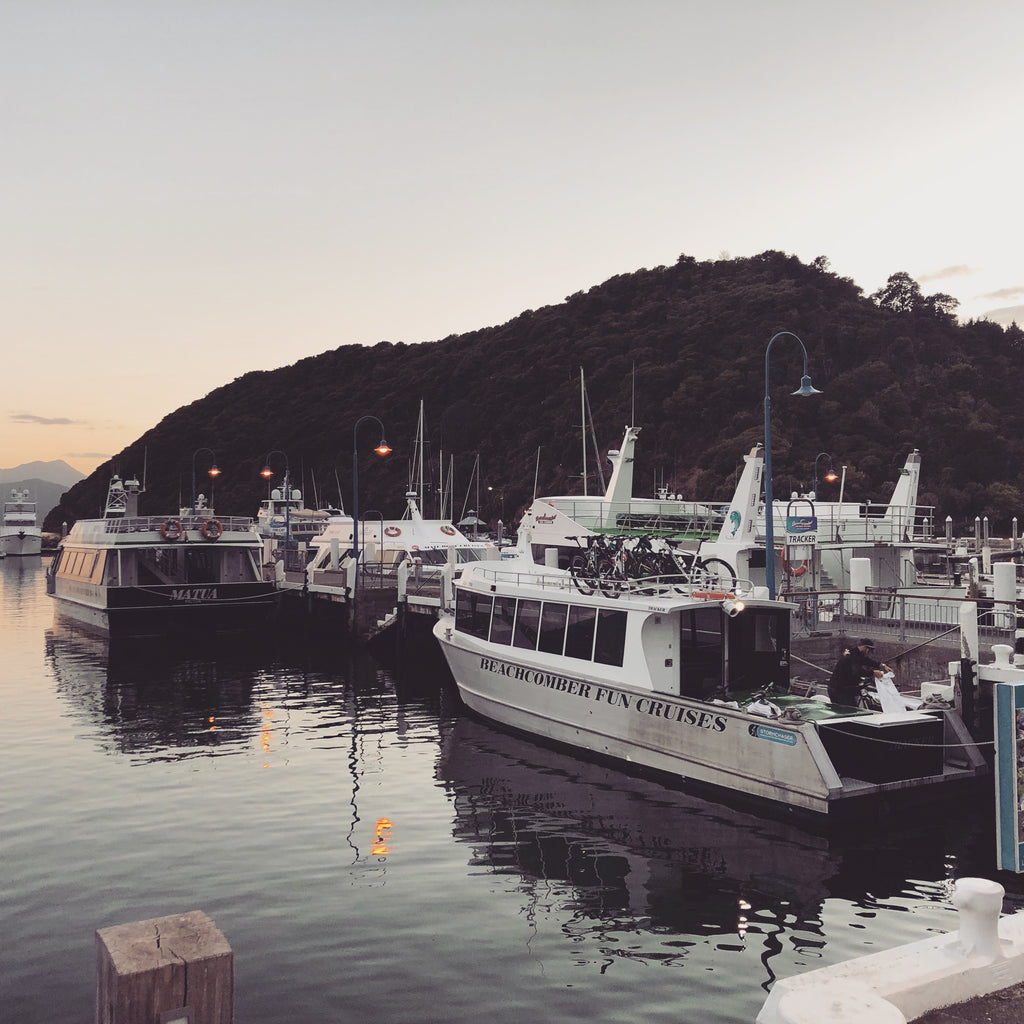 The boat trip- Picton