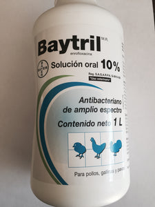 Baytril 10% (Oral)