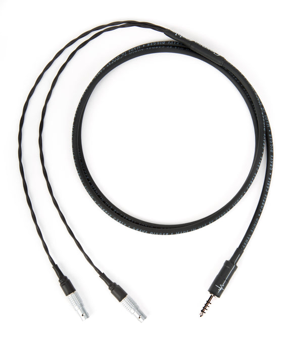 Corpse Cable GraveDigger for Focal Utopia - 4.4mm TRRRS Plug - 5ft