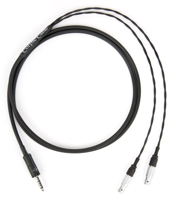 Corpse Cable for Focal Utopia - Eidolic 4.4mm TRRRS Plug - 1.3M