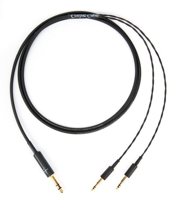 Corpse Cable for Beyerdynamic T1 / T5p - 1/4