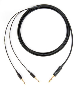 "Corpse Cable for Beyerdynamic T1 / T5p - 1/4"" Plug - 10ft"