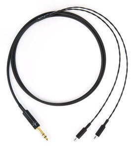 "Corpse Cable for Sennheiser HD 800, HD 800S, HD 820 - 1/4"" Plug - 6ft"