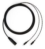 Corpse Cable for Sennheiser HD 800, HD 800S, HD 820 / 4-Pin XLR / 10ft