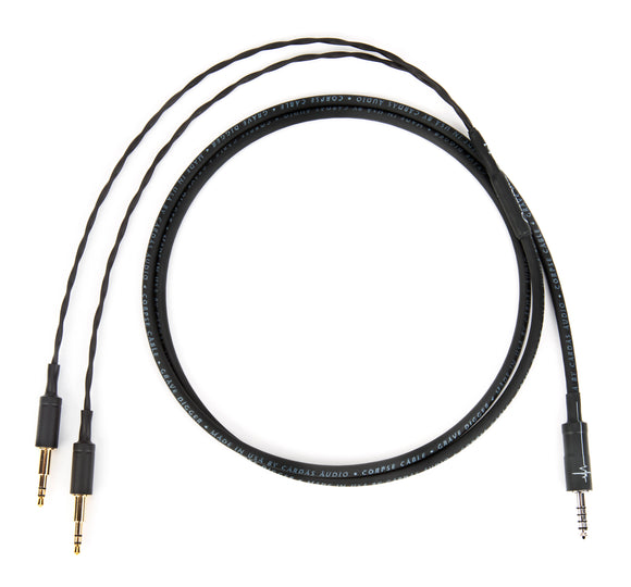 Corpse Cable GraveDigger for Beyerdynamic T1 / T5p - 4.4mm TRRRS - 1.3M