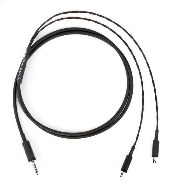 Corpse Cable for Sennheiser HD 800, HD 800S, HD 820 / 4.4mm TRRRS / 1.3M