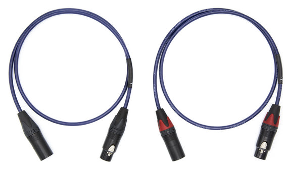 Cardas 2X21 Balanced Interconnects / 3-Pin XLR / 3ft Pair