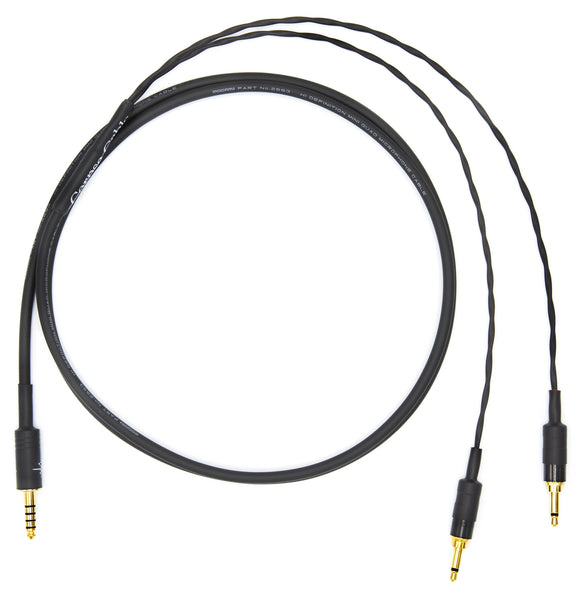 Corpse Cable for HiFiMAN Ananda / Sundara / Arya Planar Magnetic Headphones - 4.4mm TRRRS - 1.3M