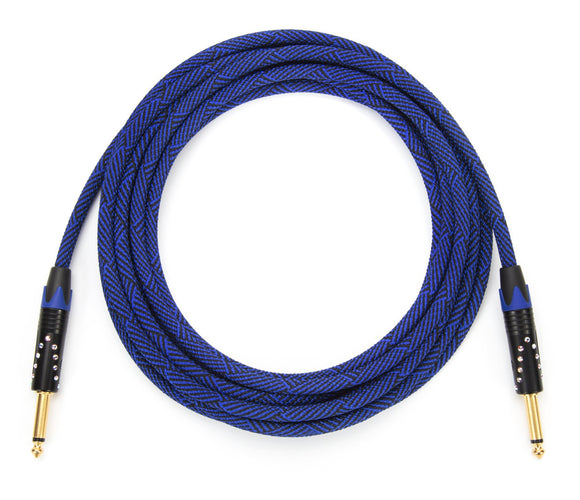Corpse Crystal Clear Instrument Cable / DeadBlue 18.5ft
