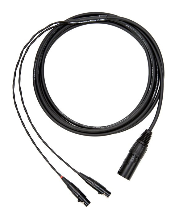 Corpse Cable for Audeze LCD Series Headphones / 4-Pin XLR / 10ft