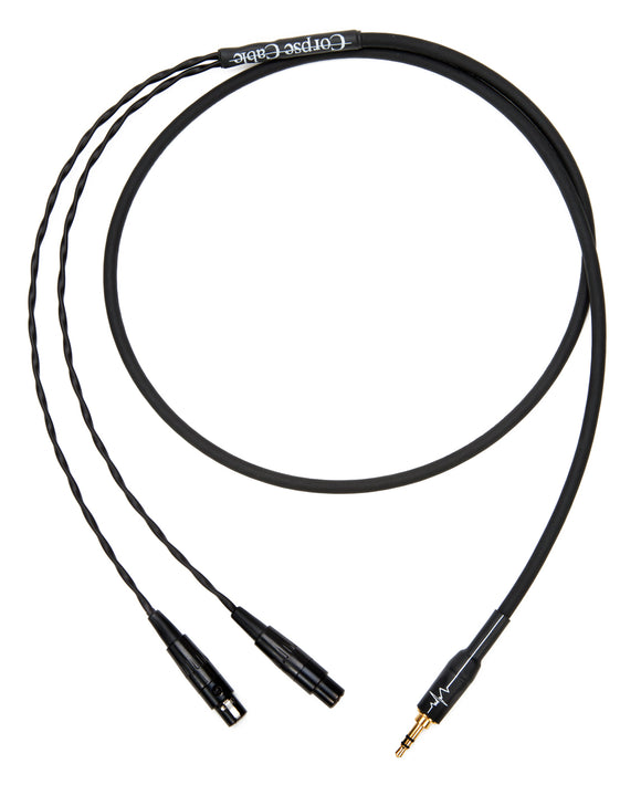 Corpse Cable GraveDigger for Meze Audio Empyrean Planar Magnetic Headphones - 1/8