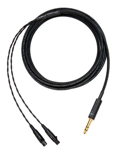 "Corpse Cable GraveDigger for ZMF Headphones - 1/4"" Plug - 10ft"