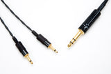 "Corpse Cable for Focal Elear / Clear / Elegia / Stellia / Radiance / Elex / Celestee / Clear MG - 1/4"" Plug - 6ft"