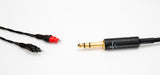 "Corpse Cable GraveDigger for Sennheiser HD650 / 660 S / 600 / 6XX - 1/4"" Plug - 6ft"