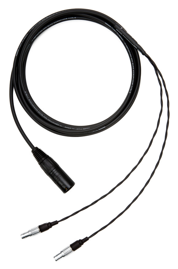 Corpse Cable for Focal Utopia / 4-Pin XLR / 10ft