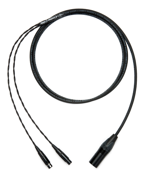 Corpse Cable GraveDigger for Audeze LCD Series (4-Pin) XLR - 6ft