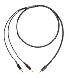 Corpse Cable GraveDigger for HiFiMAN Ananda / Sundara / Arya Planar Magnetic Headphones - 2.5mm TRRS - 4ft