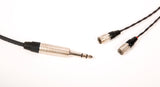 "Corpse Cable GraveDigger for Dan Clark Audio ETHER / C / FlOW / ÆON Headphones - 1/4"" Plug - 6ft"