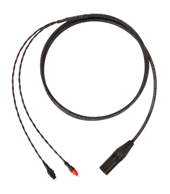 Corpse Cable GraveDigger for Sennheiser HD 600 / 6XX / 650 / 660S - (4-Pin) XLR - 6ft
