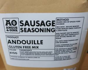 Angus  & Oink - Andouille  Sausage Mix 610g