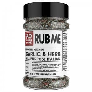 Angus & Oink - Garlic & Herb Seasoning - 175g