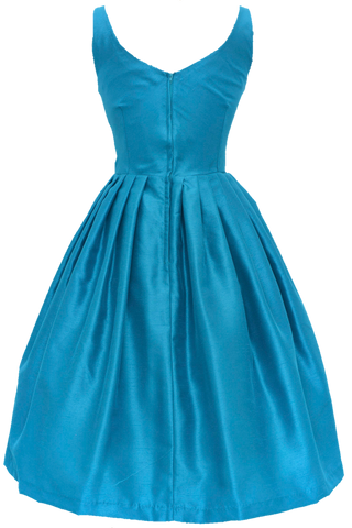 Elizabeth Teal Dress