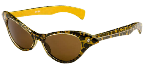 Kitten Leopard Cat Eye (Polarised) Sunglasses