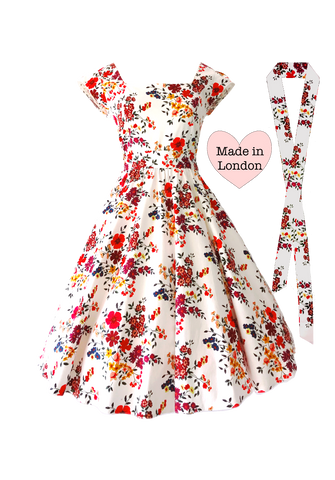 Wildflower Swing Dress