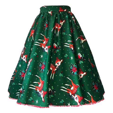 Deer Me Sweets Swing Skirt