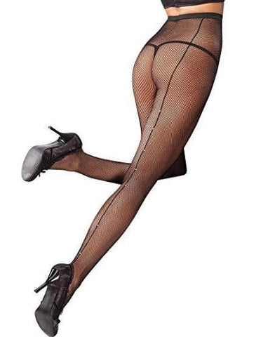 Back Seam Fishnet Pantyhose
