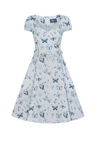 Paisley Butterfly Swing Dress