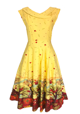 Autumn Leaves Dress (Calista)