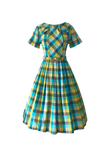 Fashion Firsts Vintage Gingham Dress