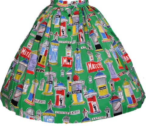 Paris Match Skirt
