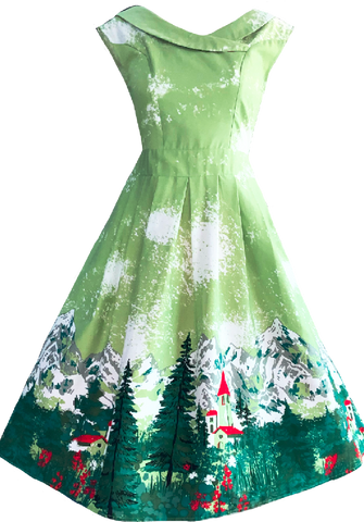 Merry Christmas Dress (Calista)