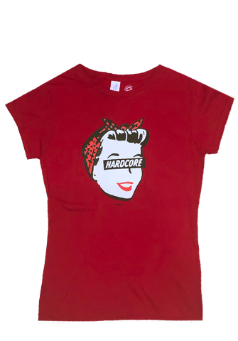 Hardcore Housewife Ladies Tee